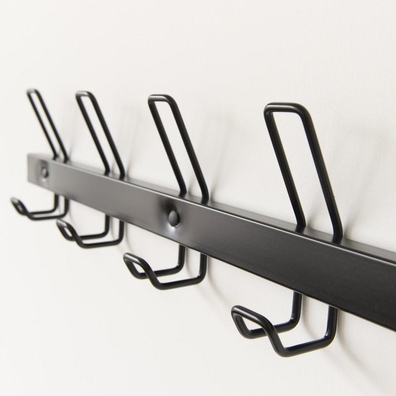 pat re d 39 cole 5 crochets coloris noir. Black Bedroom Furniture Sets. Home Design Ideas