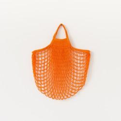 Véritable filet à provisions made in France standard orange