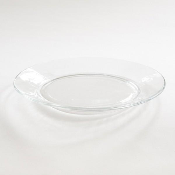 Assiette plate lys Duralex en verre trempé réputé incassable