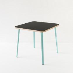table 80x80 lino noir