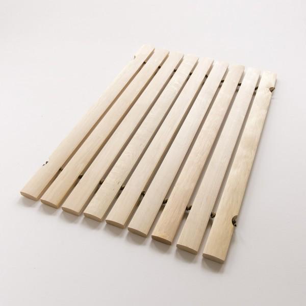 tapis de bain en lattes de bois huil grand mod le. Black Bedroom Furniture Sets. Home Design Ideas