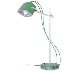 lampe à poser Mob vert mat