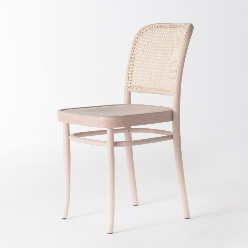 chaise de bistrot chaise bistrot lenin en bois h tre noyer achat vente chaise de bistrot. Black Bedroom Furniture Sets. Home Design Ideas