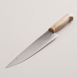 couteau à trancher 20cm manche en hêtre