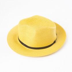 chapeau d'été terracotta