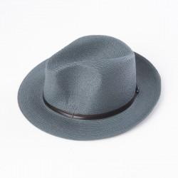 chapeau d'été ardoise