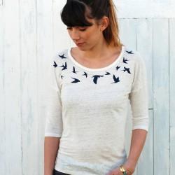 T-shirt à manches longues Ella La Révolution textile