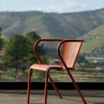 Mobilier de jardin - fauteuil en mélèze