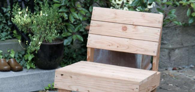 Meubles de jardin en mélèze française
