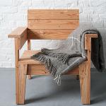 fauteuils chataignier et meleze