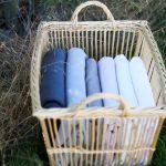 paniers à linge - manne à linge en osier