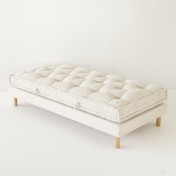 matelas artisanal laine coton pour lit 1 personne. Black Bedroom Furniture Sets. Home Design Ideas