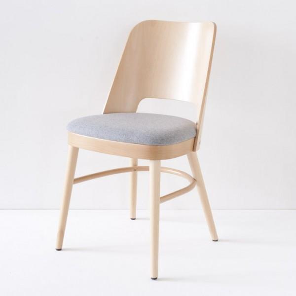 Chaise vintage années 50 dans le style Baumann