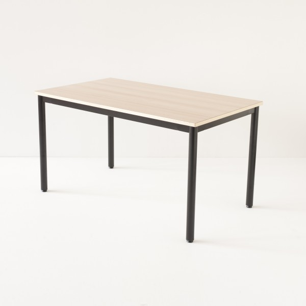 véritable table d'école 140cm noire 100% made in France