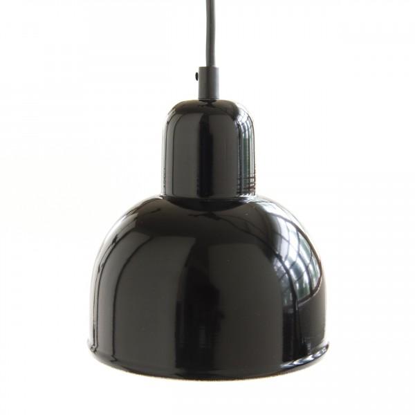 suspension conique coloris noir