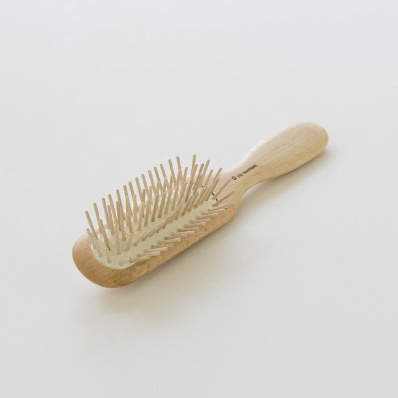 brosse cheveux iris hantverk bois et picots bois. Black Bedroom Furniture Sets. Home Design Ideas