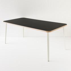 table 180x90 lino noir