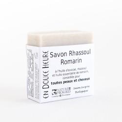 savon biologique rhassoul romarin