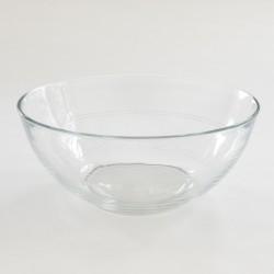 Saladier Duralex diamètre 23cm à double liseré façon verres gigogne.