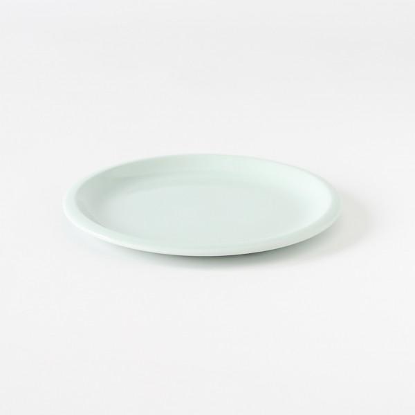 assiette en grès coloris glacier S Cantine de chez Jars Céramistes