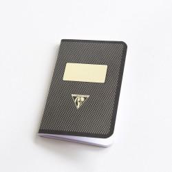 Carnet de poche couverture rétro sépia
