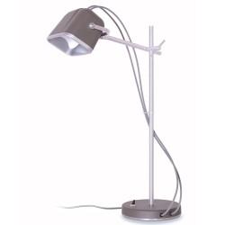lampe à poser Mob gris mat