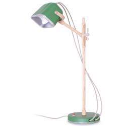 lampe à poser Mob Wood vert