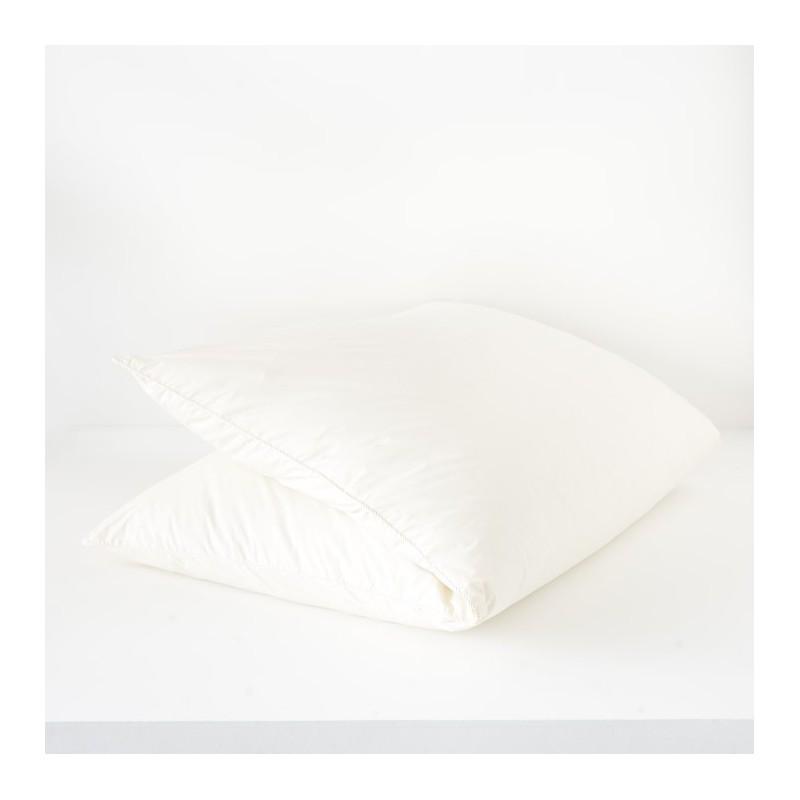 edredon gonflant en duvet 140x160 cr me. Black Bedroom Furniture Sets. Home Design Ideas