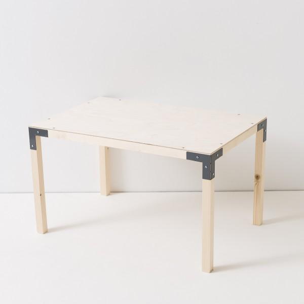 table basse 1 niveau Le Roi du Noeud