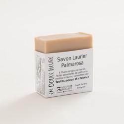 savon biologique laurier palmarosa