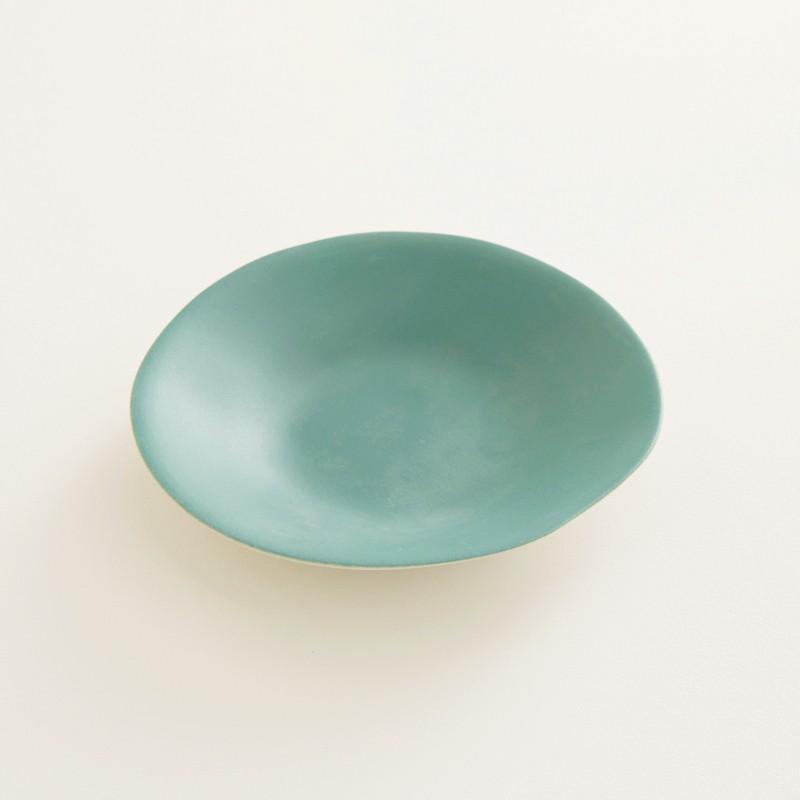 assiette creuse jars c ramistes couleur poireau s jardin de maguelone. Black Bedroom Furniture Sets. Home Design Ideas