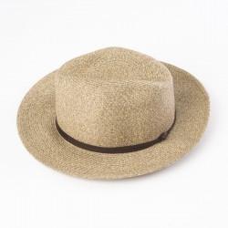 chapeau d'été café