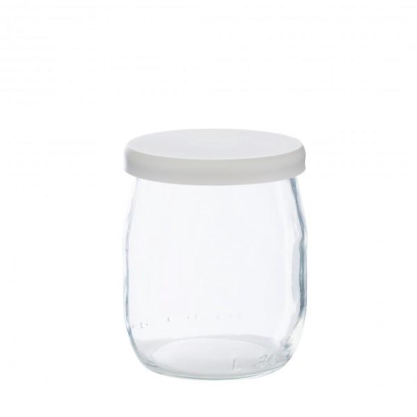 Pot de yaourt en verre pour épicerie en vrac