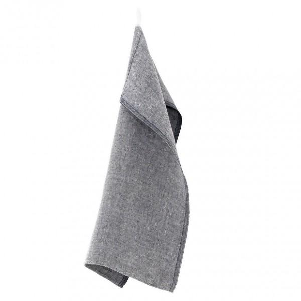 torchon lin lavé gris de chez Lapuan Kankurit