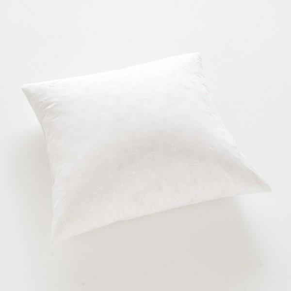 Cet oreiller 65x65xen duvet et plumettes (50%-50%) assure un confort moelleux.