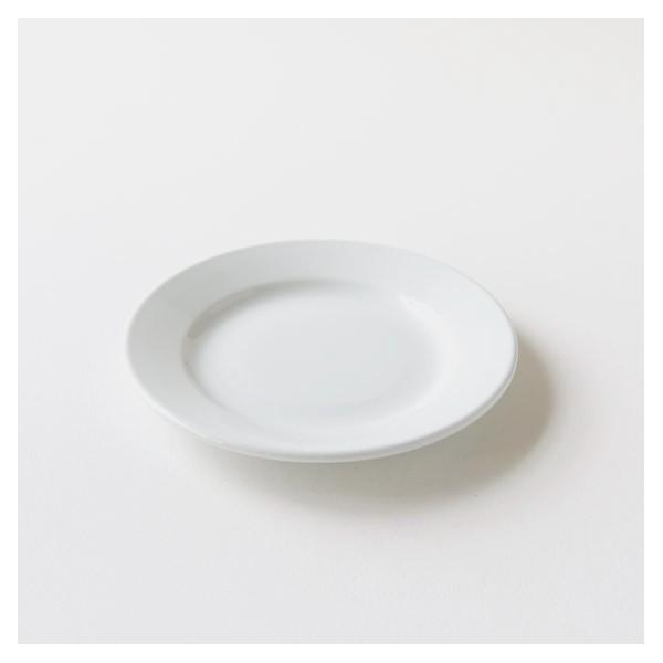 assiette plate brasserie porcelaine blanche MM de qualité hôtelière