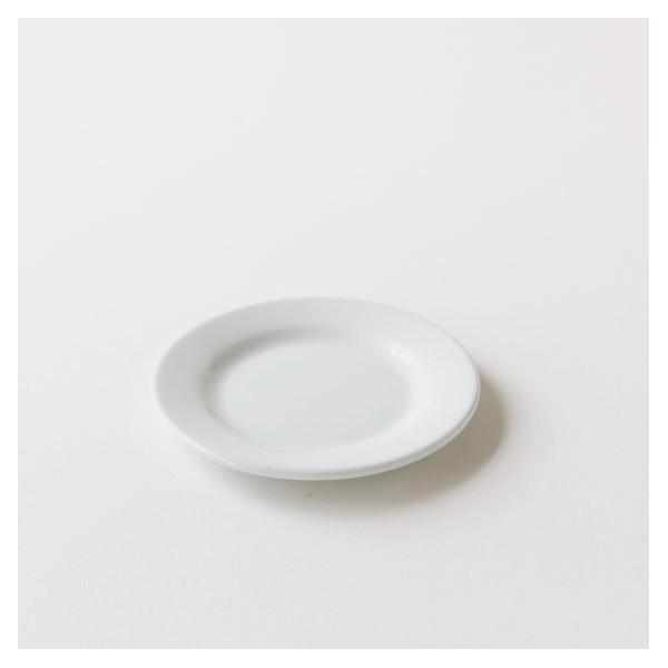 assiette dessert type brasserie porcelaine blanche
