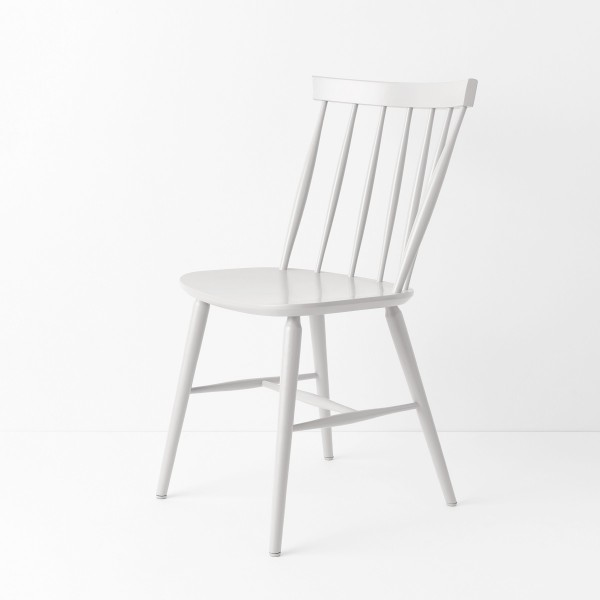 chaise scandinave laqu blanc - Chaises Scandinave