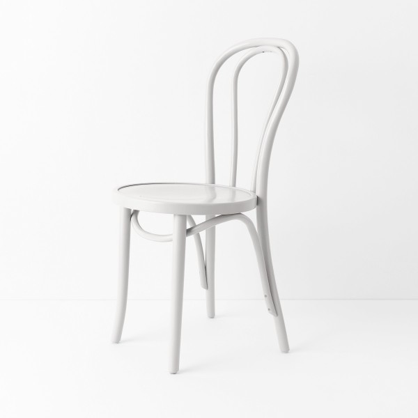 Chaise Bistrot N18 Blanc