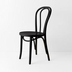 Chaise bistrot N°18 noir