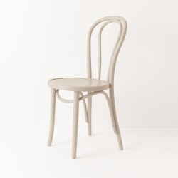 Chaise bistrot N°18 beige lin