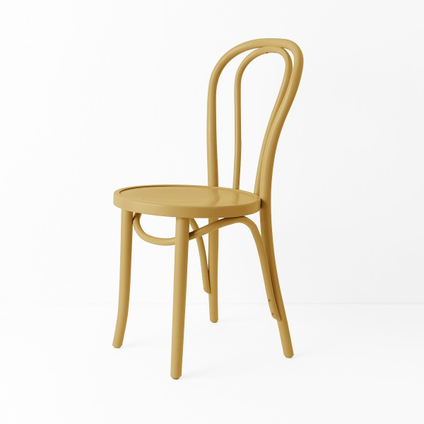 Chaise bistrot N°18 camel