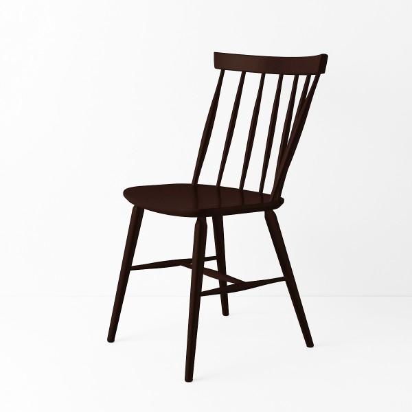 Chaise scandinave chocolat