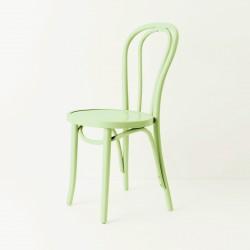 Chaise bistrot N°18 vert tilleul