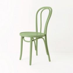 Chaise bistrot N°18 vert amande