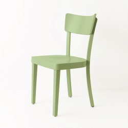 Chaise Filby vert amande