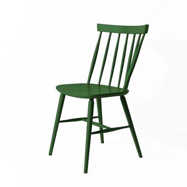 Chaise scandinave vert épinard