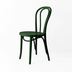 Chaise bistrot N°18 vert épinard