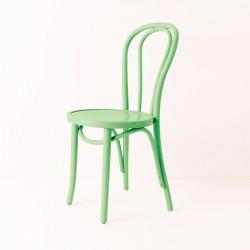Chaise bistrot N°18 vert pistache
