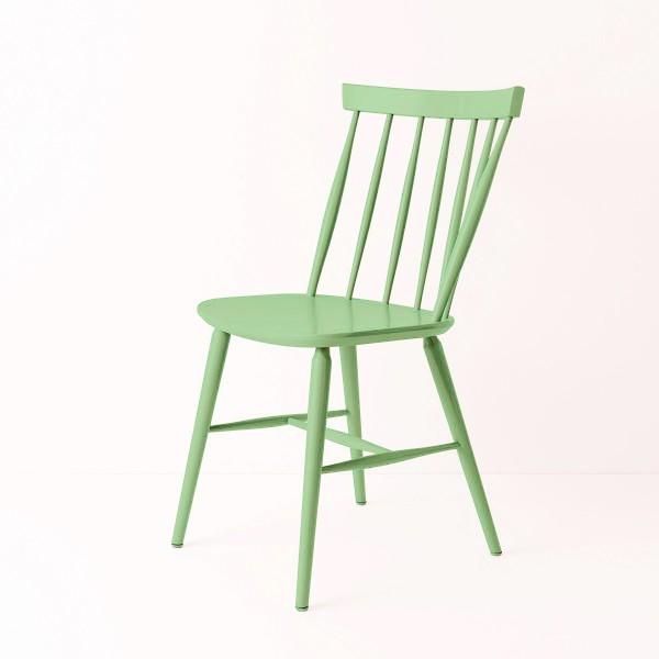Chaise scandinave vert pistache